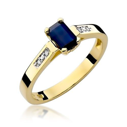 Fenomenalne pierścionki zaręczynowe z szafirem