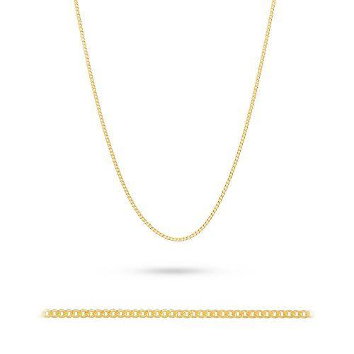 Złoty łańcuszek męski prezentem idealnym