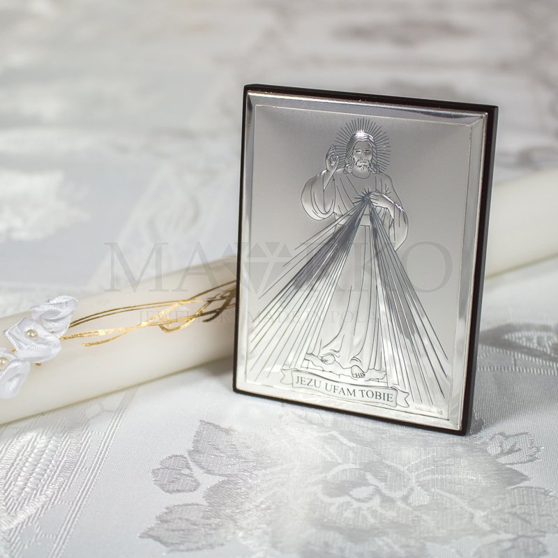 Obrazki srebrne jako prezent na ślub